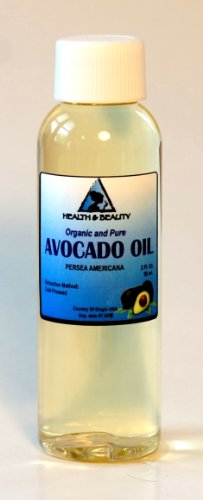 Avocado Oil Organic Carrier Cold Pressed 100% Pure 2 oz