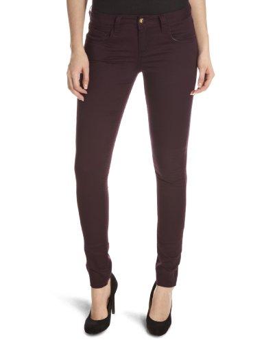 Monkee Genes Organic Sateen Supa-Skinny Unisex Adult Jeans Plum 32W x 32L