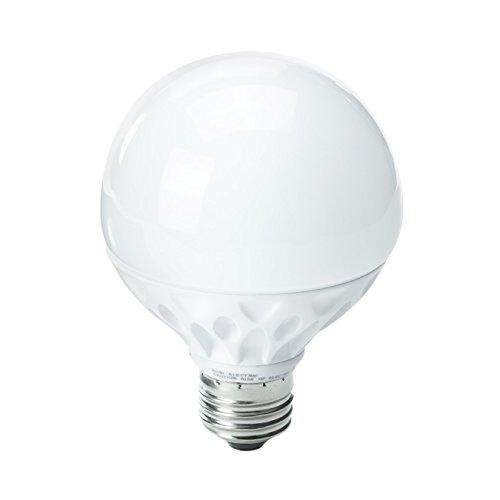Kobi Electric K8L2 8-Watt (45-Watt) G25 Led 5000K Cool White Indoor Vanity Globe Light Bulb, Dimmable