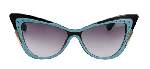 The Tidal Current Female Inlaid CZ Sunglasses Retro Cateye Sunglasses (Go Diego Go Sun Shade compare prices)