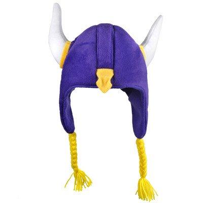 [NFL Minnesota Vikings 2012 Short Helmet Hat] (Male Football Player Costume)