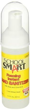 School Smart Instant Foaming Hand Sanitizer - 50mL - Case of 24
