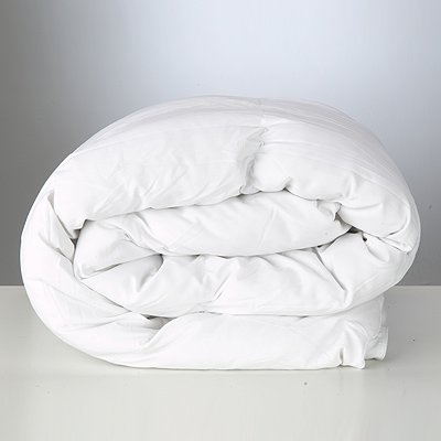 Polycotton Polyester Hollowfibre Duvet, 4.5 Tog, Double