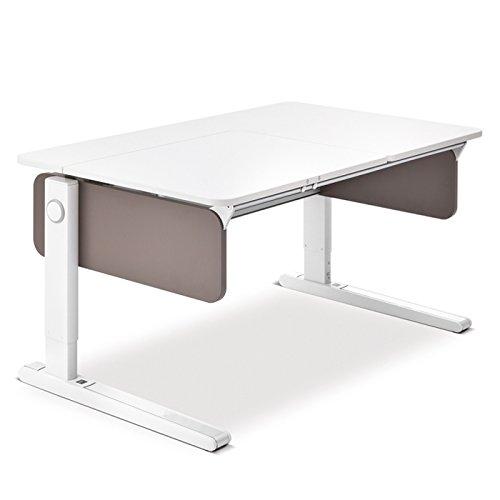 Moll Champion Style Front Up Schreibtisch | Farbe:schlamm | 120 x 72 x 53-82 cm (Breite x Tiefe x Höhe) | höhenverstellbar online bestellen