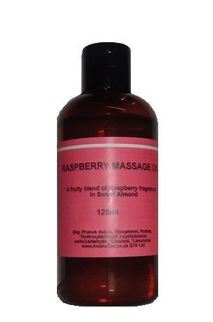 Raspberry Massage Body Oil 125ml