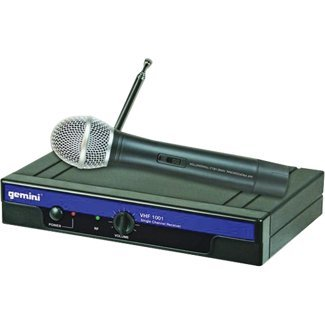 Gemini Dj Vhf1001Mc6 Handheld Wireless Microphone front-177464