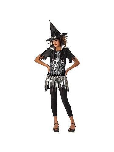 In-Character Girl's Gothic Witch Costume