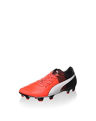 Puma Fußballschuh EvoPOWER 2.3 FG rot/weiß/schwarz