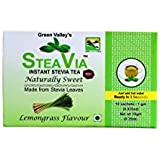 STEAVIA : Instant Stevia Tea ( Lemon Grass Flavour ) By Green Valley Stevia