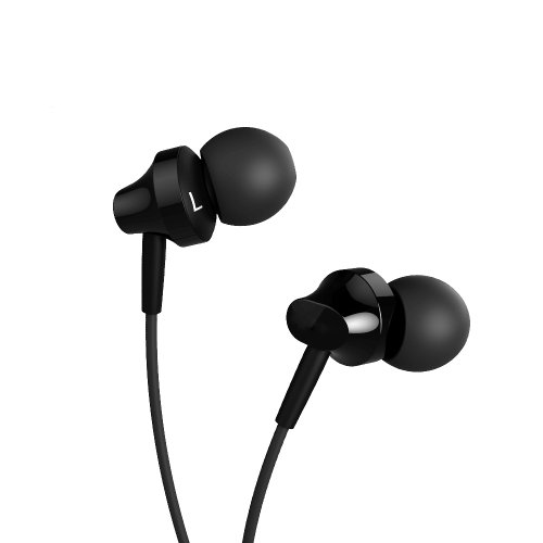 Moon Monkey 3.5 Mm Premium Stereo Wired Headsets 103Db/1Khz 15~24,000Hz 1.2M Length Suitable For Iphone Ipad Mini/Air Samsung S5/S4/Note 3 Htc M7 M8 Sony Xperia Z1/2 Nokia (Black)