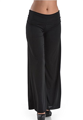TL-Womens-Made-in-USA-Comfy-Wide-Leg-Long-Boho-Maternity-Palazzo-Gaucho-Pants