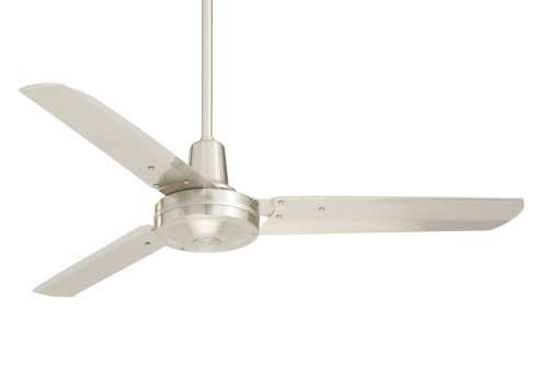 Emerson Hf948Bs Heat Fan, Indoor Ceiling Fan, 48-Inch Blade Span, Brushed Steel Finish, Brushed Steel Blades