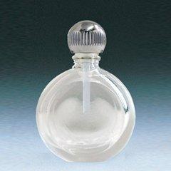 ヤマダアトマイザー パフュームボトル 小ビン 60624 豆平丸 クリア シルバー 約2.5ml