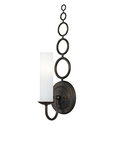 Gold Coast Lighting Cameron 1-Light Bronze Sconce, English Bronze