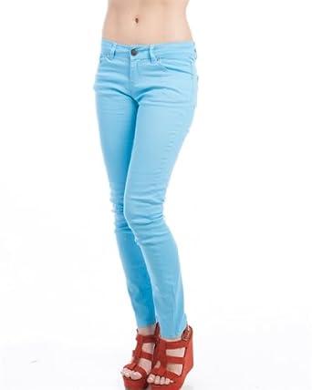 MOD 20 Women's Gemstone Skinny Jeans Light Blue 1(0055P)