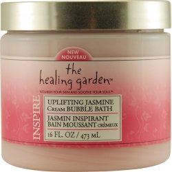 HEALING GARDEN INSPIRE by Coty JASMIN BUBBLE BATH 16 OZ for UNISEX