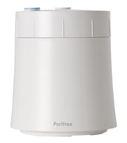 【13物質除去で1年交換、洗えるフィルター付】浄水器 ピュリフリープラス PP-WH-1