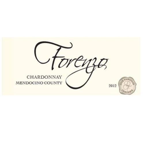 2012 Forenzo Vineyards Chardonnay Mendocino County 750 Ml