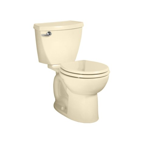 American Standard Cadet 3 Round Front Flowise Two-Piece High Efficiency Toilet With 10-Inch Rough-In, Bone Bone front-662018