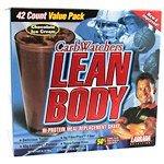 Labrada Nutrition Low Carb Lean Body Choc 42/Pk