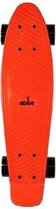 Ridge Retro 27 Skateboard complet Rouge/Noir 27