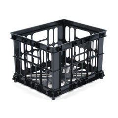 Buy RUB44806 Letter/Legal Crate-A-File, 14w x 17d x 11-1/4h, Black