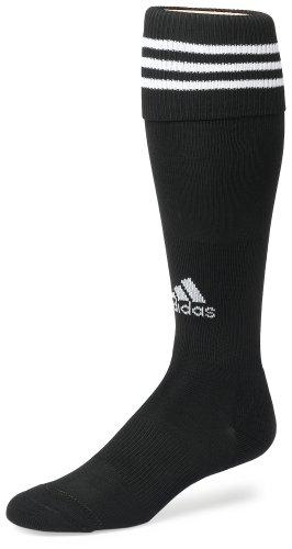 adidas Copa Zone Cushion Sock, Black/White, Large