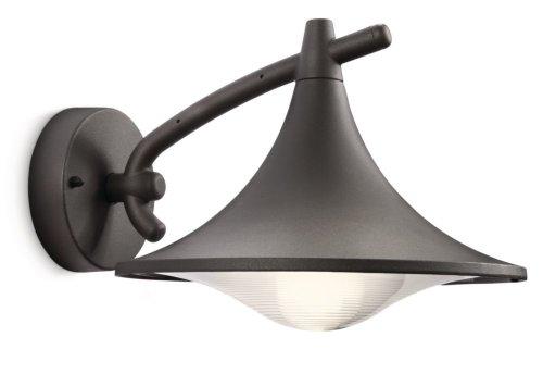 Philips Cedar Lampada da Parete, Lanterna Down, Alluminio, Antracite