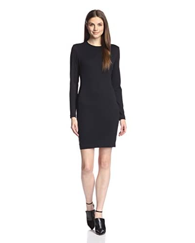LaPina Women's Basket Knit Paneled Dress