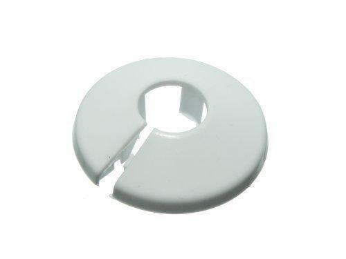 RING-Schlauch-ROSE-Kunststoff-wei-Kiefer-KHLERGRILL-Kragen-fr-15-mm-Rohre-2-Stck