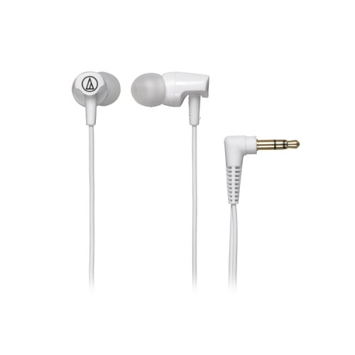 Audio Technica Athclr100Wh In-Ear Headphones, White
