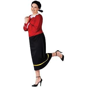 Olive Oyl Costume - Plus Size 1X/2X - Dress Size 16-20