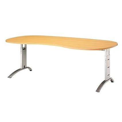 Amstyle escritorio FS20, color Nussbaum/schwarz