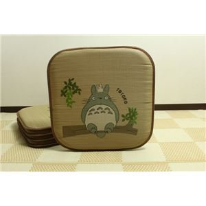 Indigenous textile ADRA not grass cushions 'of Acorn trees Totoro 5 pair of' approximately 55 x 55 cm × 5 P