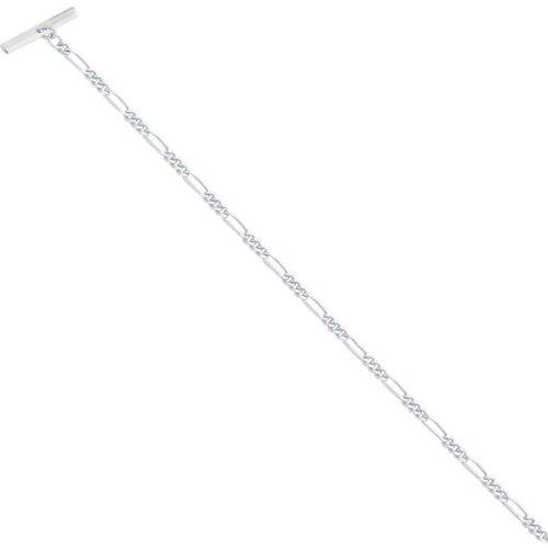 Rhodium Plated Tie Chain