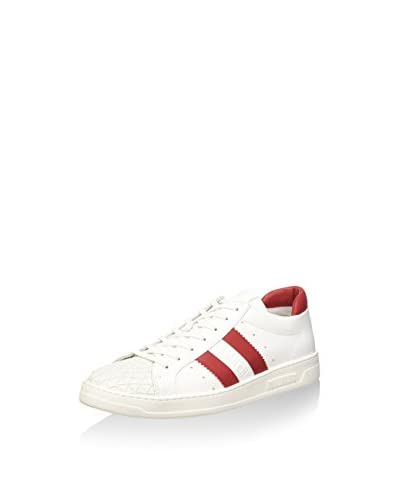 BIKKEMBERGS Sneaker weiß/rot