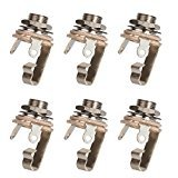 Switchcraft Output Jack, Mono - 6 Pack