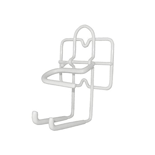 ClosetMaid 3463 Broom and Dust Pan Holder, White (Broom Holder Small compare prices)