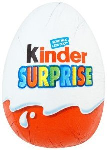 Kinder Surprise Egg Chocolate 20 g (Pack of 18)