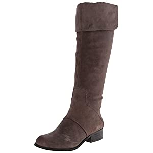 Nine West Women's Noriko Suede Riding Boot