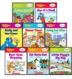 Vocabulary Tales Set 1: Includes Bear Goes Shopping, Dinner Time!, Emily and Mortimer, Kit Visits Kat, Little Piggys Big Day, One of a Kind!, Safely Ever After, and School Rules (8-Book Set)