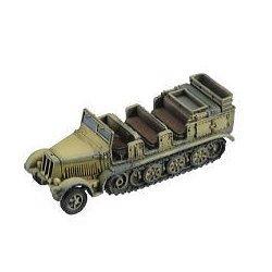 ドイツ軍 8トンハーフトラック(sd.Kfz.7):DAKブラウン