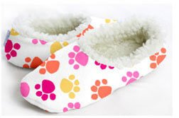 Image of Snoozies Women's -Dog Paws (Large) (B009YZSN8S)