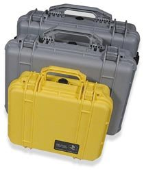 Pelican 1520 Case with Foam - Yellow