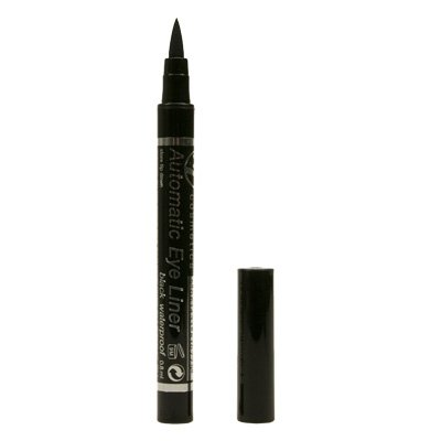 W7 AUTOMATIC WATERPROOF EYE LINER BLACK 0.8ML *BN* WOW