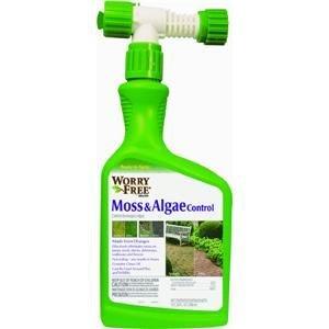 Lilly Miller 10052270 1 Quart Worry Free Moss and Algae Control