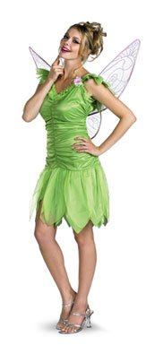 Disney Fairies Tinker Bell Young Adult Costume size 7-9