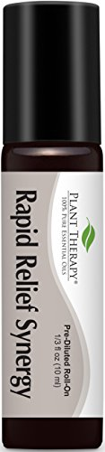 Rapid Relief (formerly Pain-Aid) Synergy Pre-Diluted Essential Oil Roll-On 10 ml (1/3 fl oz). Ready to use!