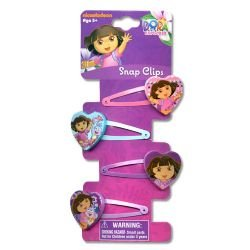 Dora 4 on Snaps with Plastic Motifs Hair Accessory the unknown bridesmaid