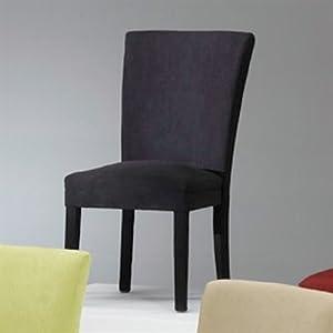 Bernards Microfiber Parson ChairsSet Dining Chair (2 pack)